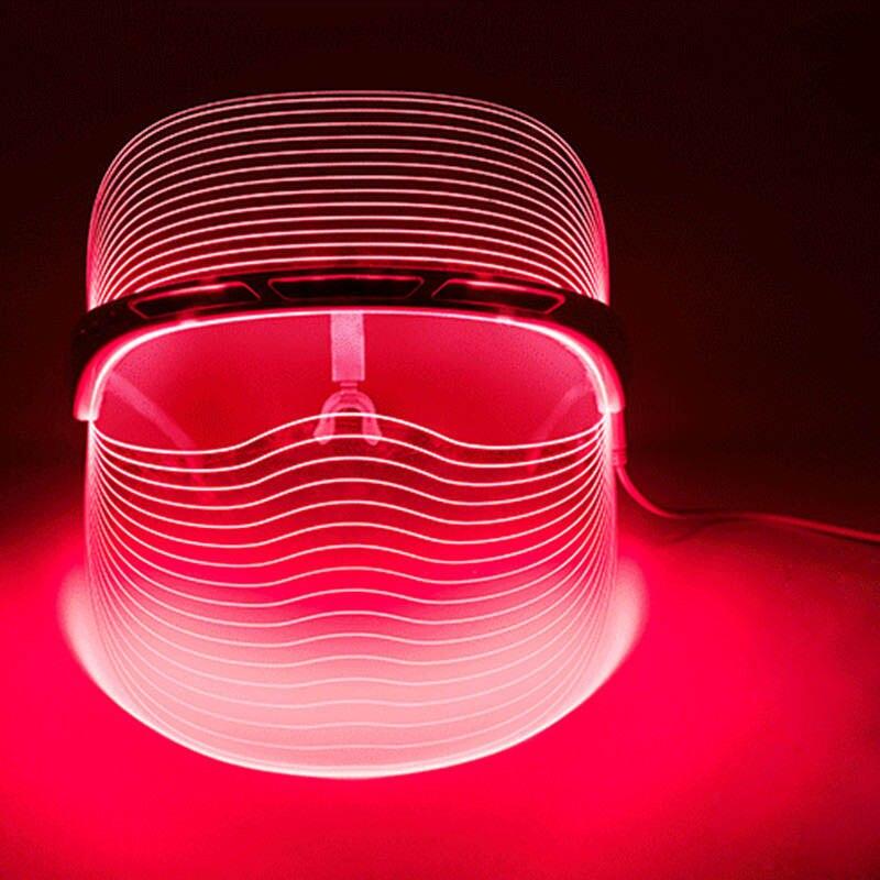 Светодиодный свет Фотон Маска профессии Инструменты для ухода за лицом омоложения кожи терапии морщины анти-акне возраст инструмент H7JP