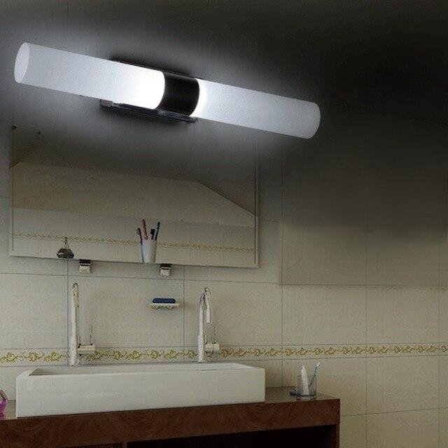 Chaud Couleur Applique Murale Miroir De Maquillage LED Lampe Salle - Ampoule tube salle de bain
