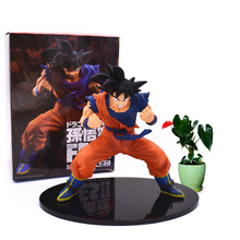 Anime Dragon Ball Z Son Goku Firm Stance PVC Action Figure Dragonball Super Saiyan Doll Collectible Model Toy Christmas Gift