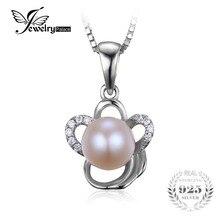 Jewelrypalace s925 plata de estilo clásico de la flor colgante no incluye la cadena de joyería fina para las mujeres pendiente de la manera