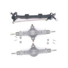 Qin24 1/24 RC Heavy Truck Metal Front Middle And Rear Diff Bridge Set Parts