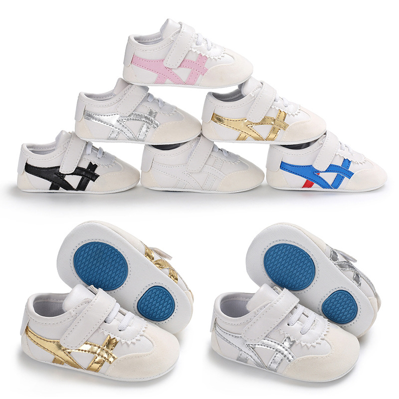 Fashion Newborn Baby Boys Girls Shoes For Kids Sneakers Infant Outdoor Crib Shoes Toddler First Walkers Sport Shoes Hard Sole