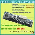 3S 4s 5s 6S BMS PCM lifepo4 18650 li-ion lithium battery protection board  3.7v 3.2v