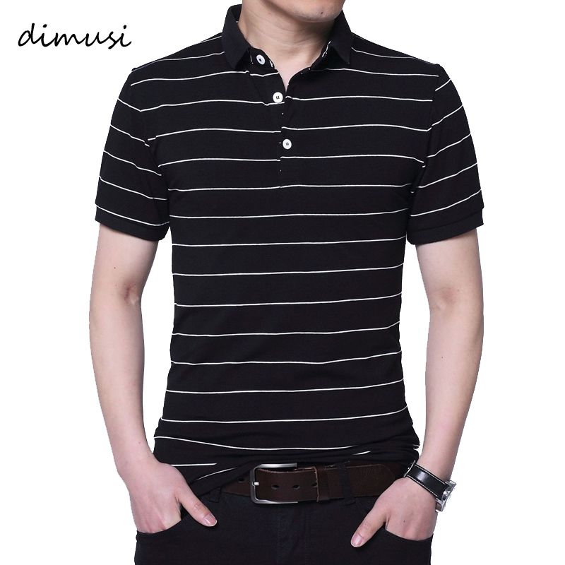 DIMUSI Men   Polo   Shirts Summer Men Casual Short Sleeve Cotton   Polos   Shirts Fashion Tops Tees Para Hombre Brand Clothing 5XL,YA799