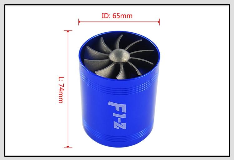 VR RACING-F1-Z двойная турбина турбонагнетатель воздуха впускной газ топлива заставка вентилятор автомобиля супер зарядное устройство VR-FSD11