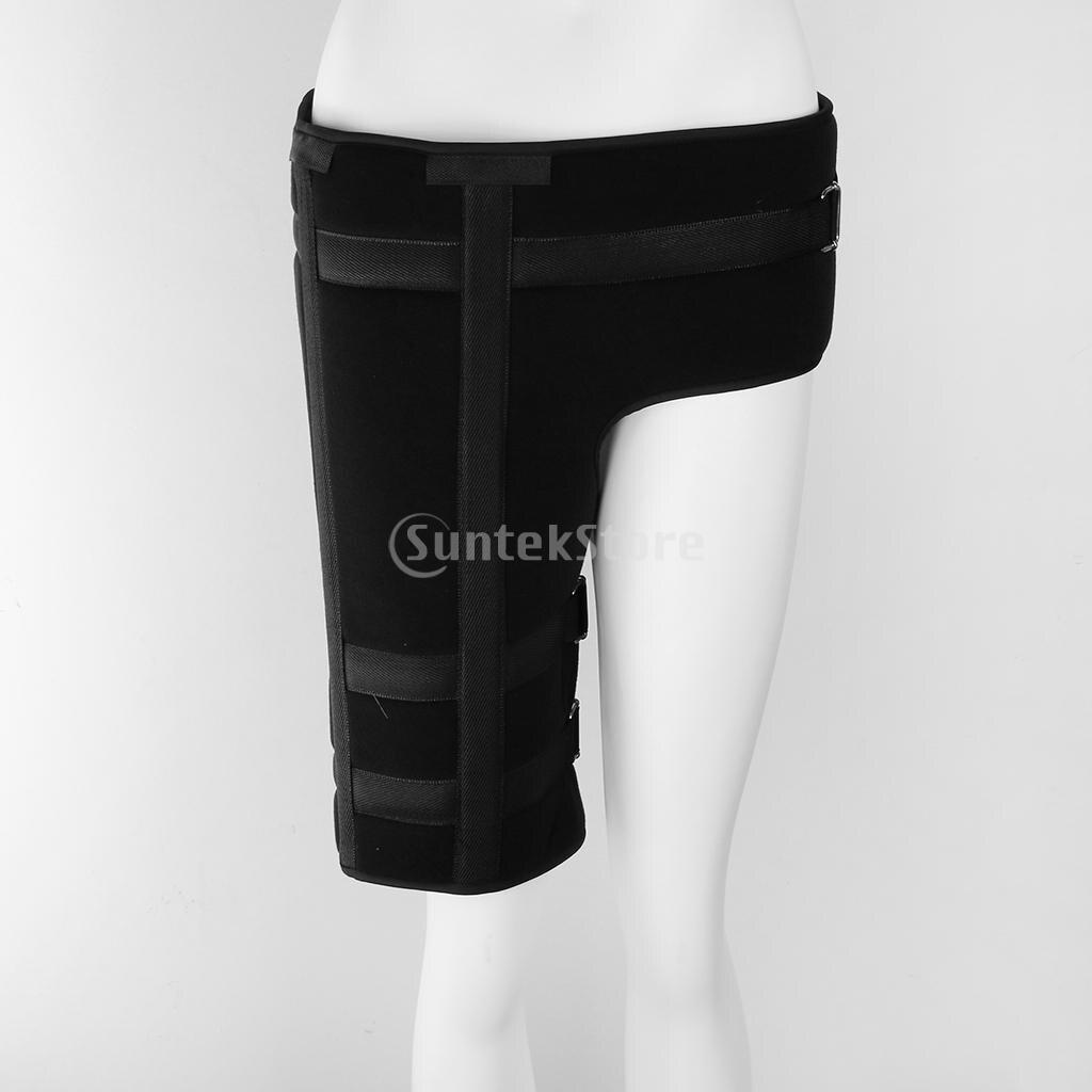 Thigh Groin Brace Support Adjustable Hip Femur Leg Strain Pain Relief Wrap L