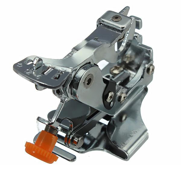 HGHO-Handheld Mini Sewing Machine Ruffler Presser Foot For Brother Singer Low Shank Sewing Machine