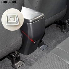 For Toyota RAV4 RAV 4 2016 ABS Car Armrest Box Rear Cigarette Lighter Stickers Sequins Internal Decoration Accessories