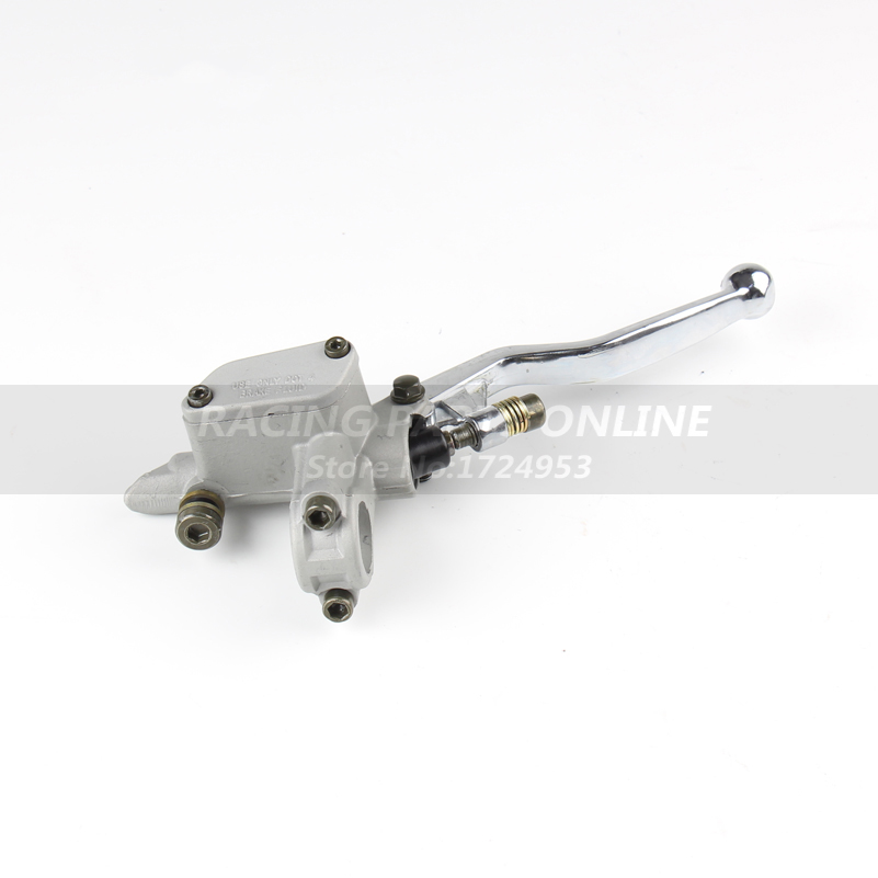 Brake Pump master cylinder Front Brake pump lever right side M10 refitted for CRF KLX pit bike dirt bike motorcycle motorcross high quality dirt pit bike atv quad motorcycle right front brake pump refit brake master cylinder pump free shipping