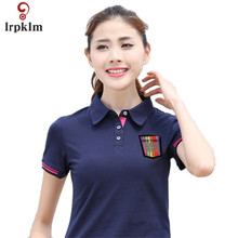 Fashion Woman Short Sleeve Polos Mujer Summer Outdoors Fitness Lapel Polo Shirt Women Breathable Quick Dry Casual Camisetas 934