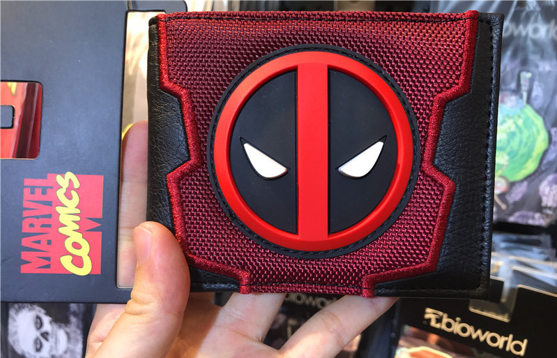 2018 New Designs Deadpool Wallets Cartoon Anime Dead Pool bag Purse Fold Card Holder Bag Short Wallet cartoon short wallet pocket monster pokemon satoshi pikachu short wallets two fold purse children wallet gift