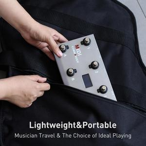Image 5 - MIDI Commander Guitar Portable USB MIDI Foot Controller With 10 Foot Switches 2 Expression Pedal Jacks 8 Host Presets For Live