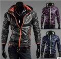 Jaqueta Casual dos homens outono nova jaqueta à prova de vento impermeável protetor solar movimento