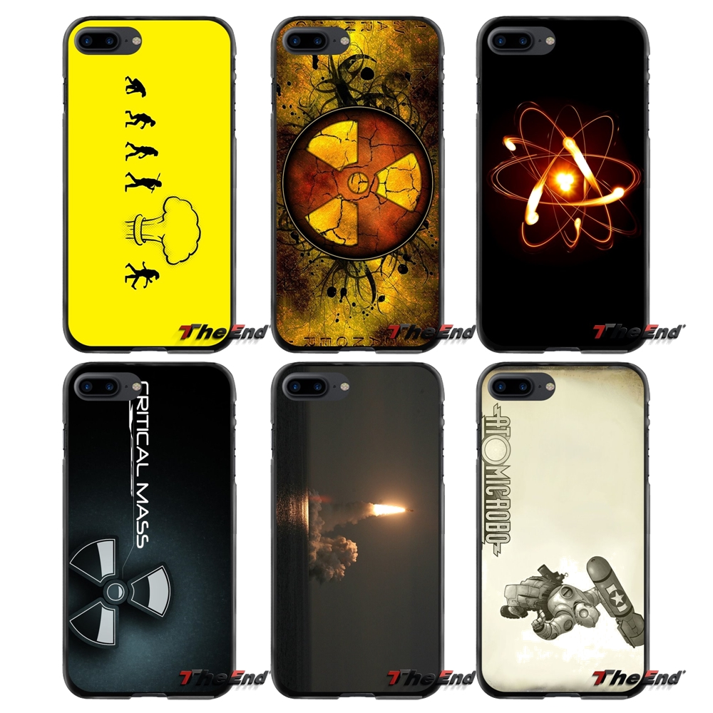 Nuclear Danger For Apple iPhone 4 4S 5 5S 5C SE 6 6S 7 8 Plus X iPod Touch 4 5 6 Accessories Phone Shell Covers
