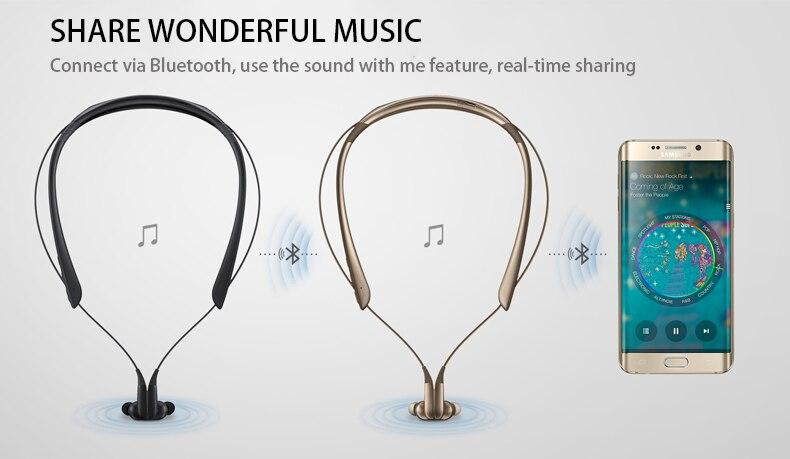 Original Samsung Level U Pro Bluetooth Earphone Sport Collar In Ear A2dp Hsp Hfp Avrcp For Galaxy S8 8plus S9 S9plus Bluetooth Earphones Headphones Aliexpress