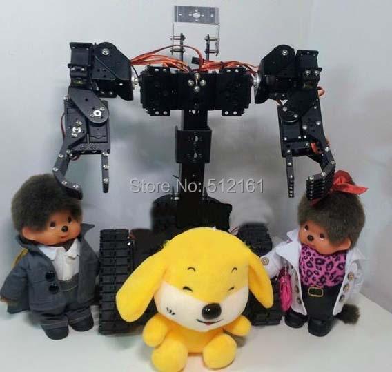 Tracked robot Frame Servo Bracket servo driver metal Frame kit for arduino