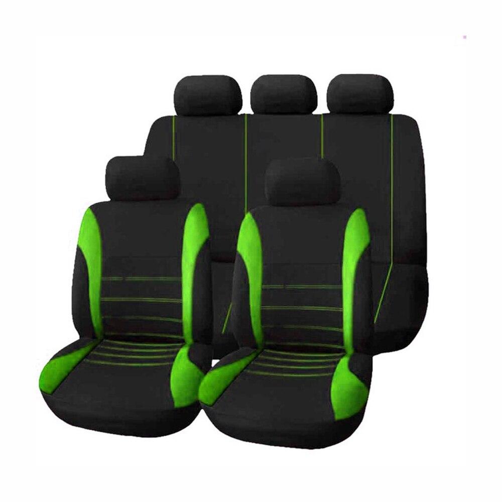9pcs Universal Car Seat Cover Auto Interior Covers for Four Seasons for bmw ford vw mazda jetta Toyota Peugeot volvo honda skoda