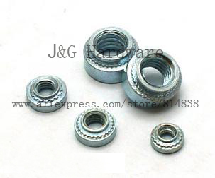 Wkooa 1000pcs/lot Self Clinching Nuts  S-M2.5-2  Round  Metric Pressure Riveting nuts
