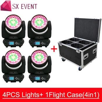Precio barato alta configuración 19*15w led zoom luz con cabezal móvil Fiesta disco efecto de movimiento de cabezal
