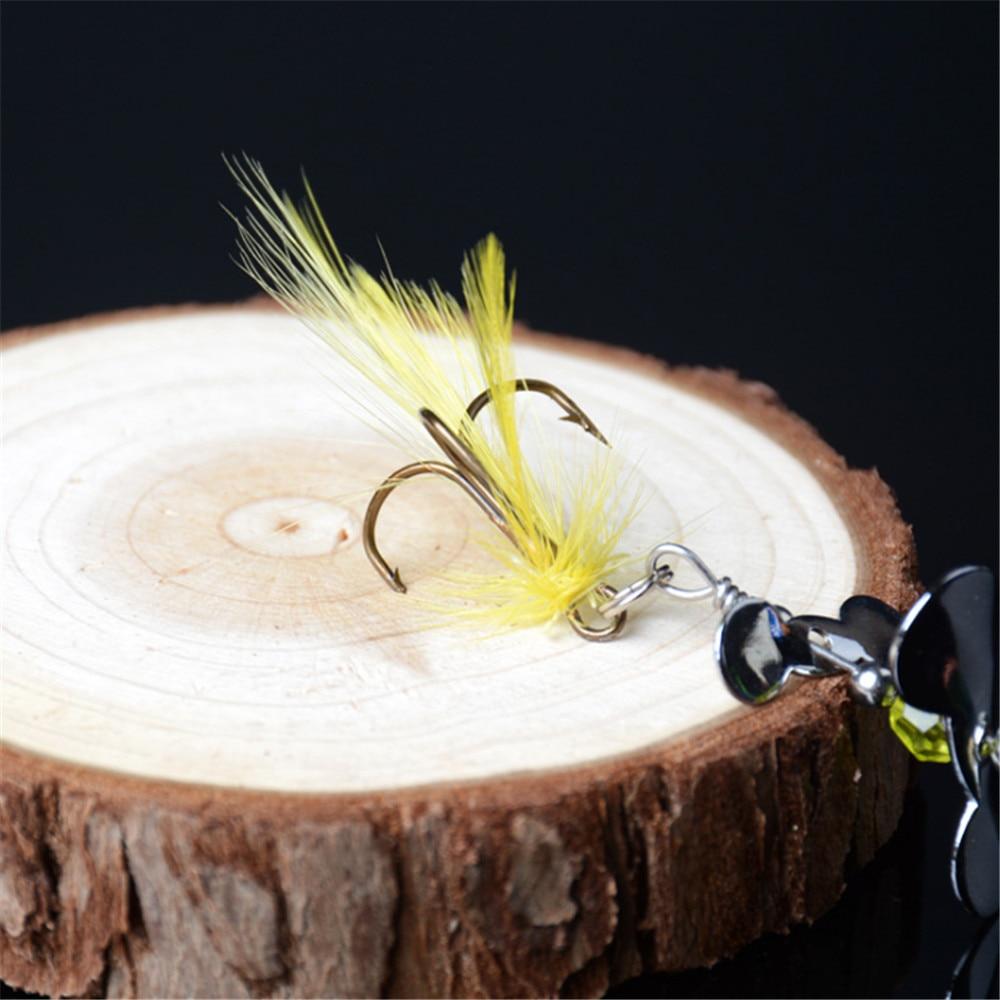 1pcs Rotating Spinner Fishing Lure  4