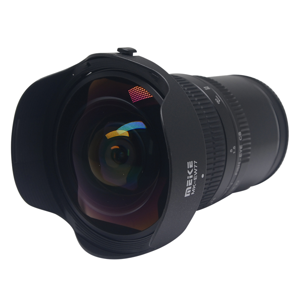 Meike 8mm f 3 5 Wide Angle Fisheye Lens for for Sony Alpha and Nex Mirrorless