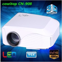 3D 1080P Short Throw Projector Full HD 1800 Lumens 200 inches home theater Projector