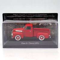 IXO Altaya 1:43 Ford F1 Truck Pick UP 1951 Red Diecast Models Limited Edition Collection miniature Toys Car