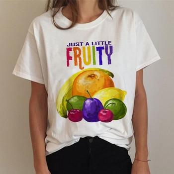 Lgbt T Shirt Women Gay Pride Shirt Lesbian Rainbow T-shirt Harajuku Ullzang Funny Tshirt 90s Graphic Love Is Love Top Tee Female 5