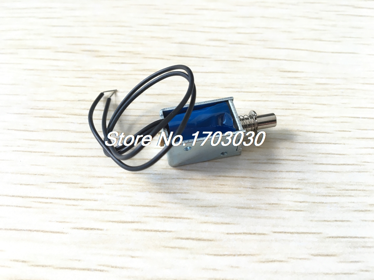 цена на 5V 1mm 100g 2mm 50g Force Push Pull Type Open Frame Solenoid Electromagnet
