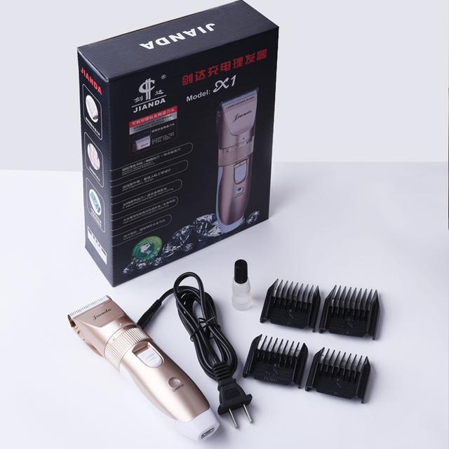 Nueva llegada a prueba de agua cortadora de cabello eléctrica de afeitar, los niños varones bebé máquina de afeitar eléctrica hair trimmer máquina de corte a pelo corte de pelo