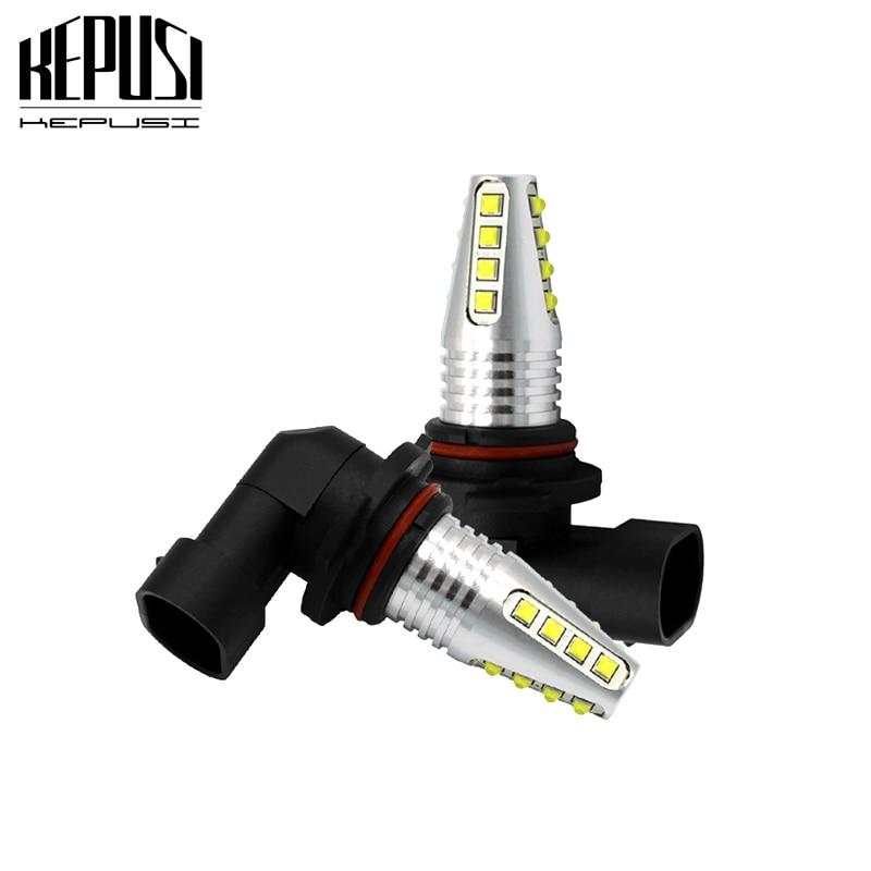 2x 9005 HB3 9006 HB4 Led Fog Light Bulb Auto Car Motor Truck Canbus Error Free LED Bulbs Driving Lights DRL Lamp 12V 24V White in Car Fog Lamp from Automobiles Motorcycles