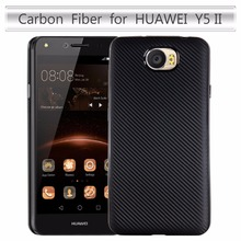 For Huawei Y6 II Compact 5.0inch Case Carbon Fiber Soft Cover For Huawei Y6II Compact / Y6 2 Compact Phone Case