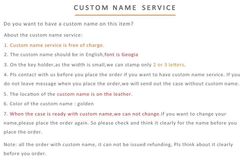 hiram beron custom name-key holder