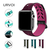 URVOI Sport Band For Apple Watch Series 1 2 3 Silicone Strap For Iwatch Pin And