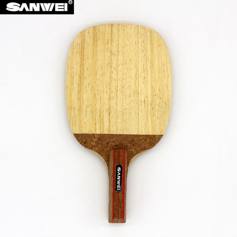 Sanwei STORM R3 Table Tennis Blade (7 Ply Limba, Loop) Japanese Penhold Racket JS Ping Pong Bat Paddle