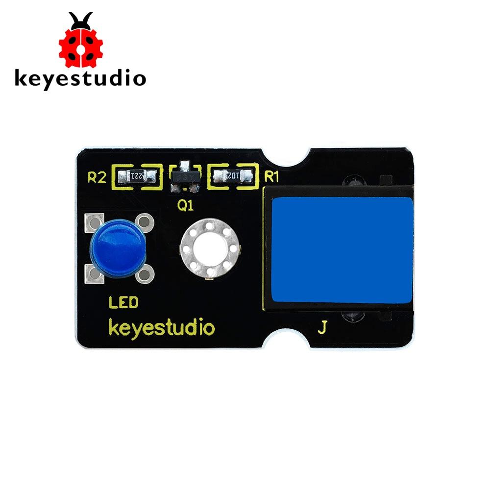 Keyestudio RJ11 EASY Plug LED Module(Blue) For Arduino STEM