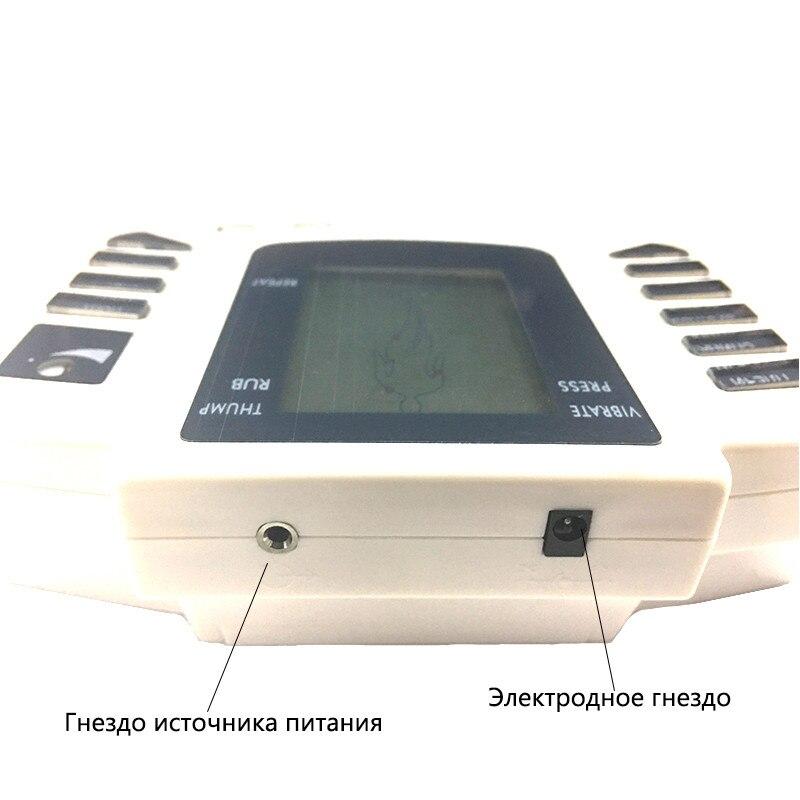 16 pçs elétrodo almofadas corpo relaxar massageador