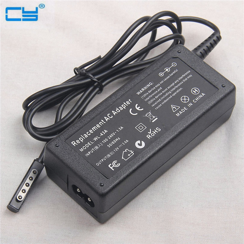 12V 3.6A AC Power Adapter Wall Charger For Microsoft Surface 10.6 Windows 8 Pro 1 2 Tablet Tab EU & US & UK Plug