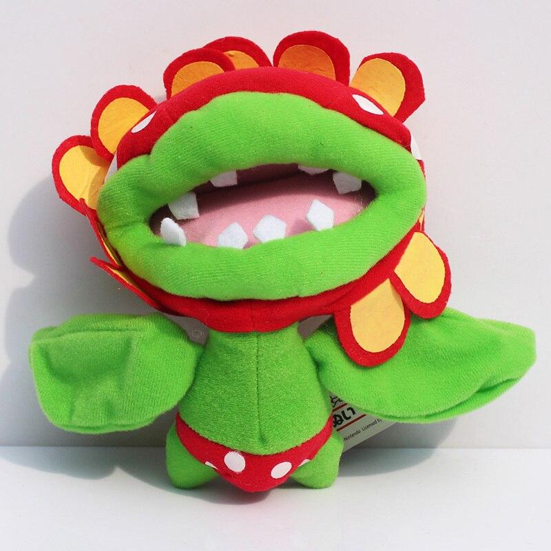 """Плюшевая кукла """"Пиранья"""", 6,5 дюймов, """"Супер Марио"""", """"Пиранья"""", мягкие игрушки,, 10 шт./лот"""