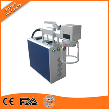 Factory price fiber pvc pipe laser marking machine For Cable and Electrical Wire