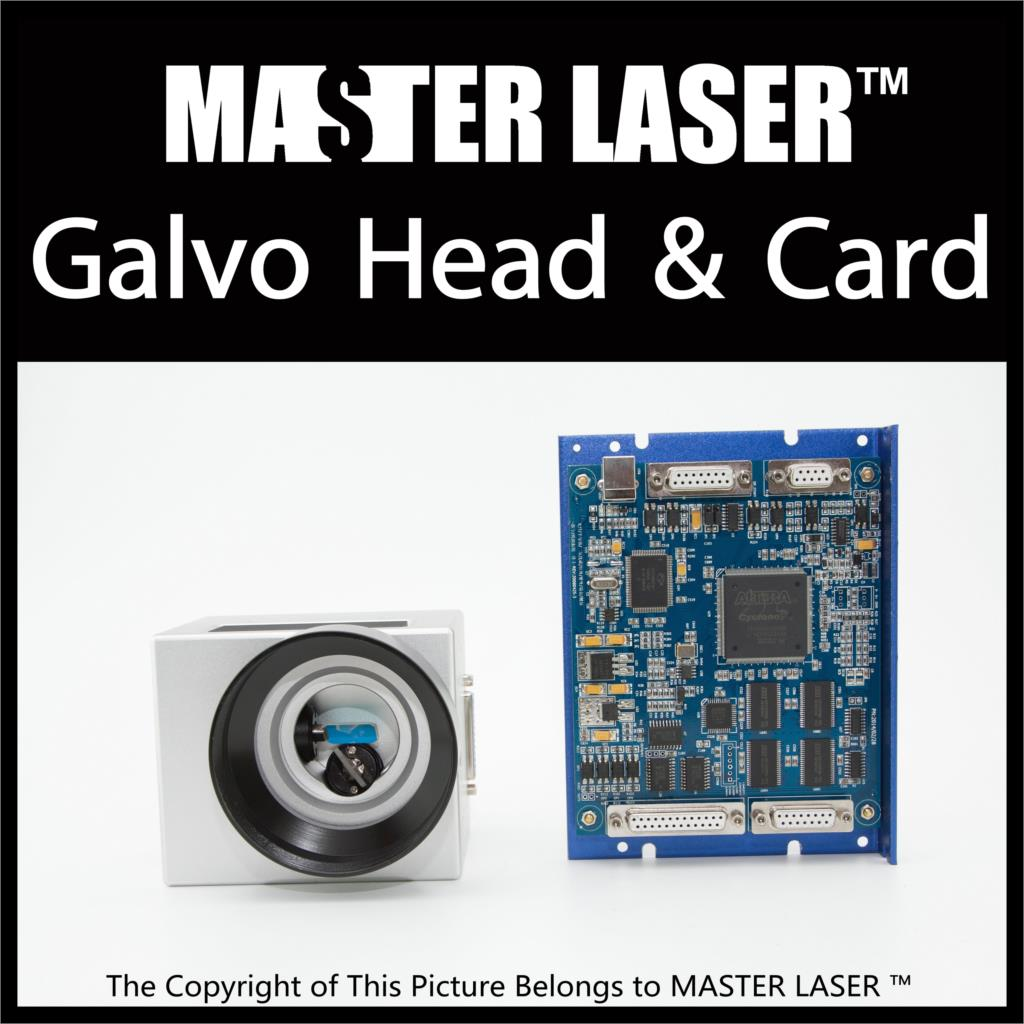Good quality 10mm Aperture 1064nm Fiber Laser Engraving Marking Galvo Head Digital Signal and Matched Marking Board Controller high quality southern laser cast line instrument marking device 4lines ml313 the laser level