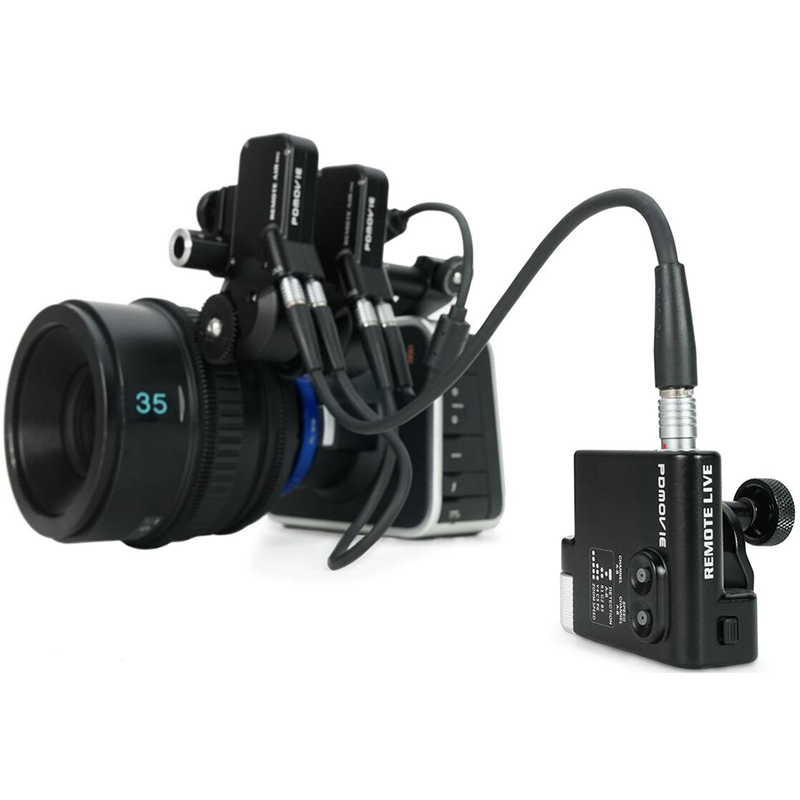 PDMOVIE REMOTE LIVE 2 PDL-F Follow Focus motorized wired zoom for camera film lens EF carl zeiss RONIN M DSLR RIG 3 axis Gimbal удлинитель zoom ecm 3