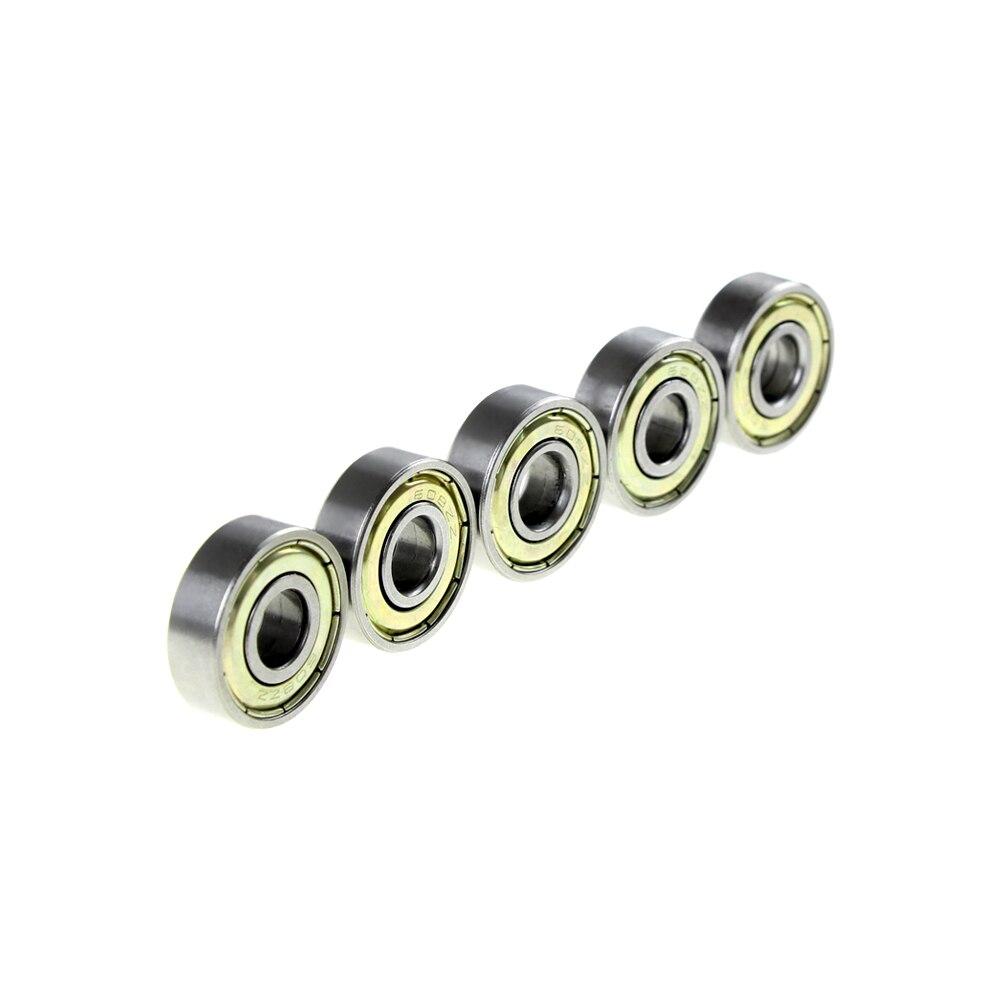 Besorgt 10 Teile/los Schaukel Auto Roller Rad Kraft Bord Roller Skates Teile Abec-5 Rillenkugellager 8*22 * 7mm 608zz/2z Feines Handwerk