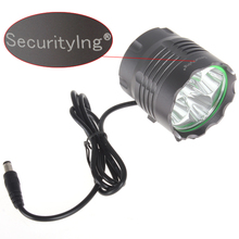 SecurityIng Waterproof High Power 3000LM 5x XM-L T6 LED Bicycle HeadLight