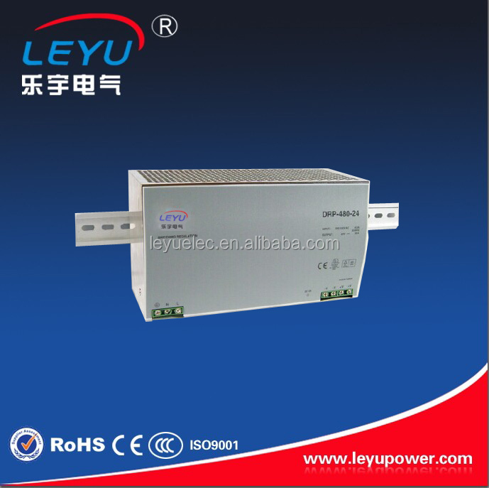 Hot sell 48v ac dc single output DRP-480-48 Din rail with high frequency switching power supply low price high power ac dc converter drp 480 15 480w 32a 15v switching power suply for industrial