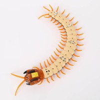 Kids Electric RC Centipede Fake Insect Gags Practical Jokes Remote Control Centipede Creative Electric Animal Prank