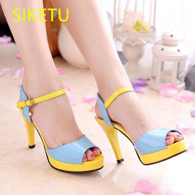 SIKETU Free shipping Spring and autumn women shoes Fashion high heels shoes summer wedding shoes pumps g224 sandals princess 2017 free shipping siketu spring and autumn women shoes fashion high heels shoes wedding shoes pumps g174 summer sandals