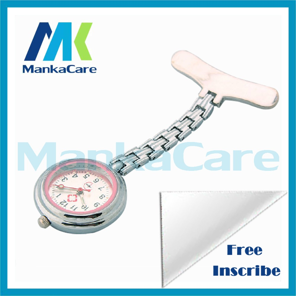 ML Dental Clinic Nurse Water Label Teeth Dentist Gift Hanging Pocket Watch Fobwatch Free Shipping Medical Dental Lab Tool
