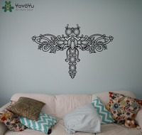 Dragonfly Wall Stickers For Kids Rooms Cute Animal Wall Decal Modern Design Waterproof Art Home Decor