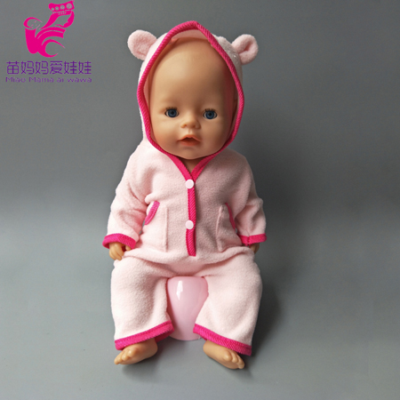 Dolls coat for 43cm Zapf Baby New Born Doll reborn baby coat, Children gift dolls clothes rose christmas gift 18 inch american girl doll swim clothes dress also fit for 43cm baby born zapf dolls
